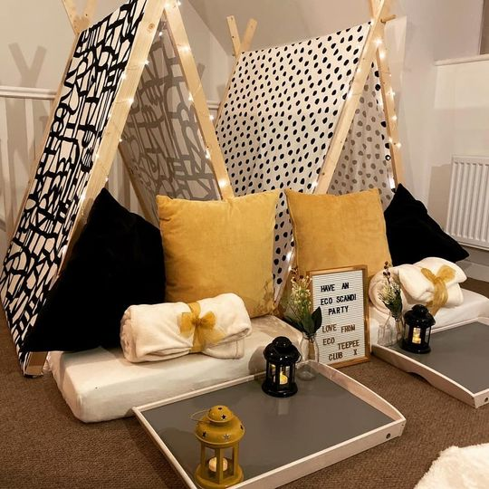 Something Different Eco Teepee Club 16