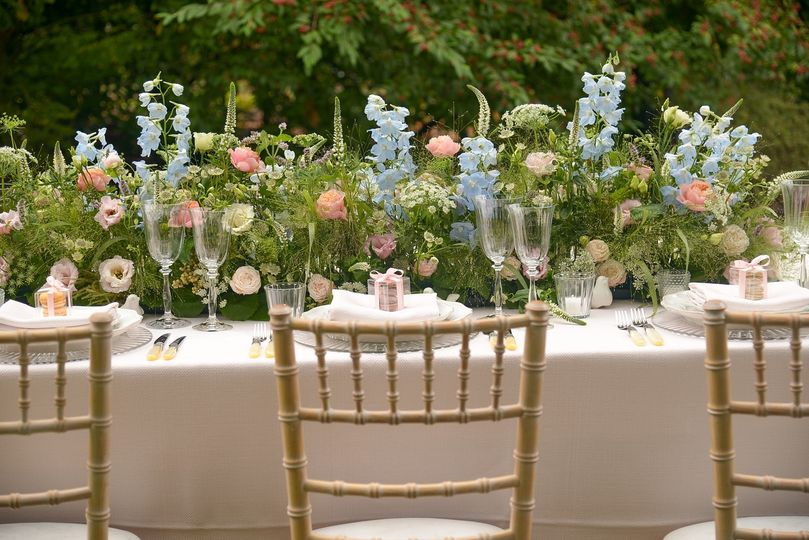 Lovely floral arrangements