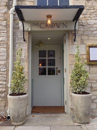 The Crown doorway