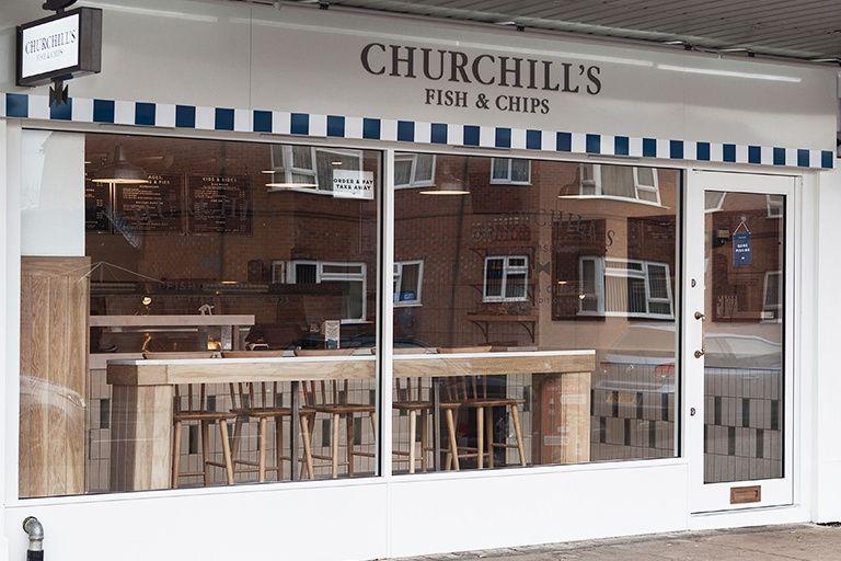 Churchill's local shop
