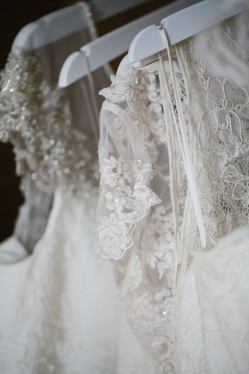 Lots of lace and tulle!