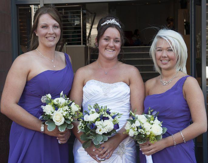 Wedding group make up