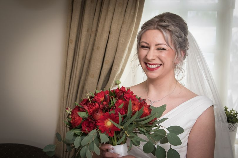 Portrait of the bride - Stephen Vaughan Photography