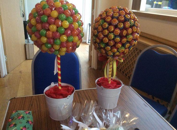 Crafty candy lolly pop tree