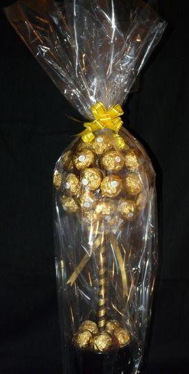 Ferrero Rocher chocolate tree