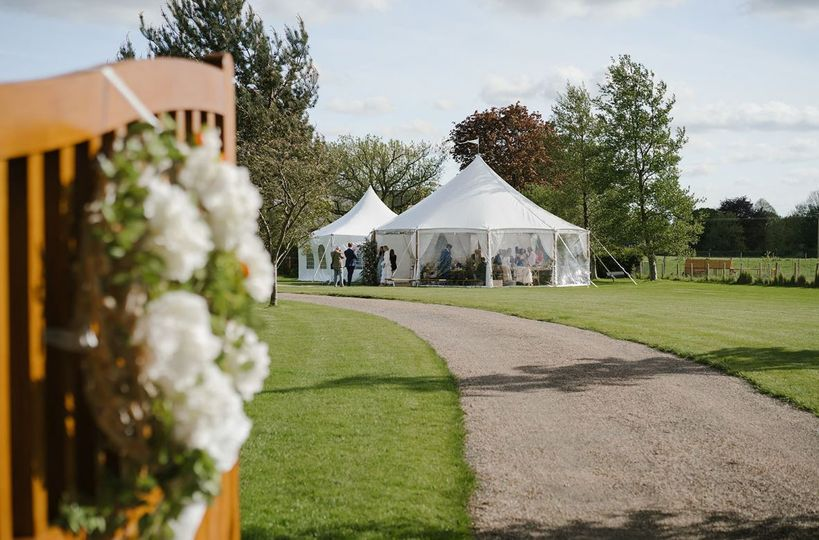 Summer Marquee Wedding