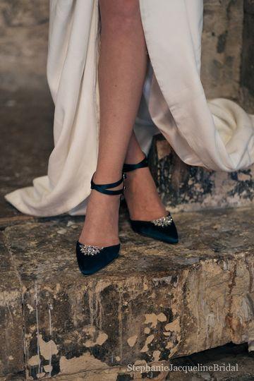 Custom Bridal Shoes
