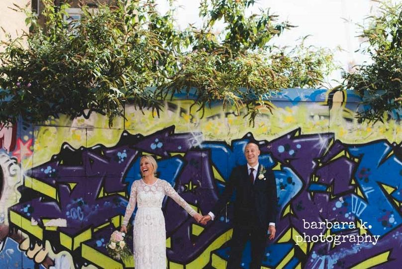 Urban wedding -  barbara k. photography