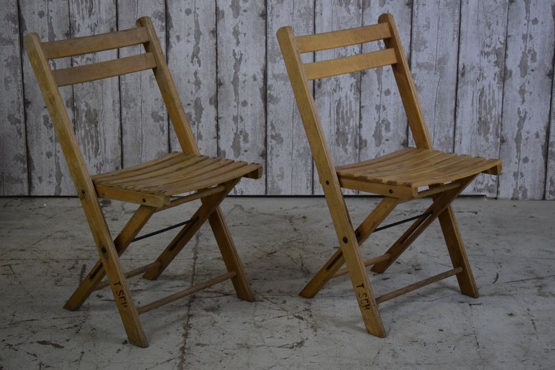 To Hire- folding wooden chairs