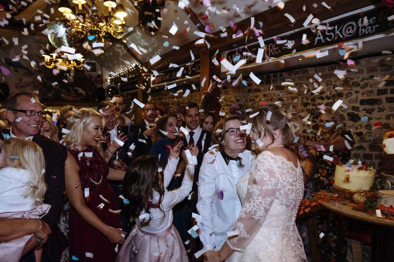 Confetti celebrations