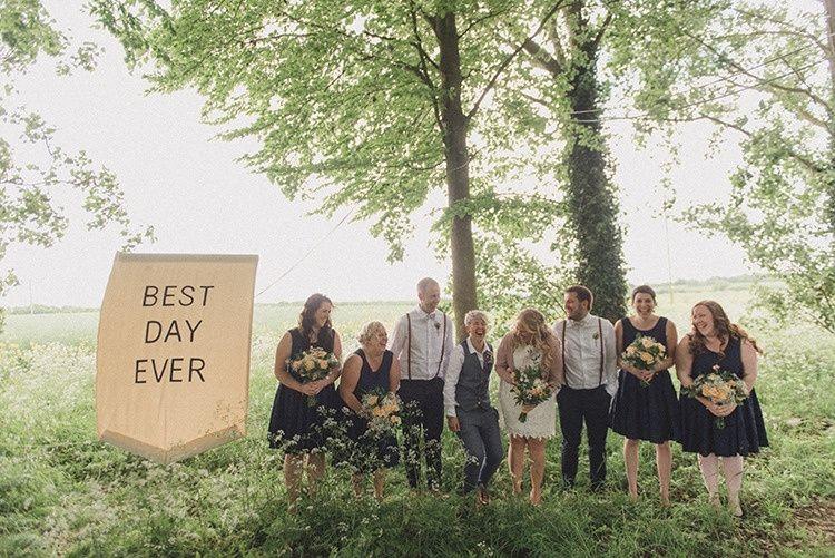 Cockley Woodland Wedding 1