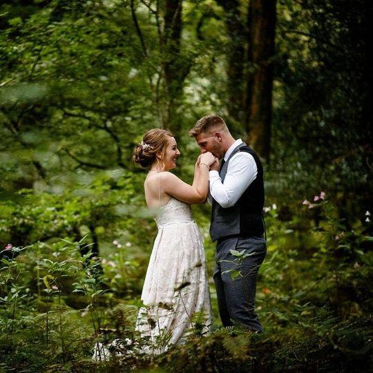 Cockley Woodland Wedding 5