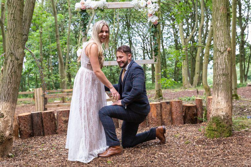 Cockley Woodland Wedding 9