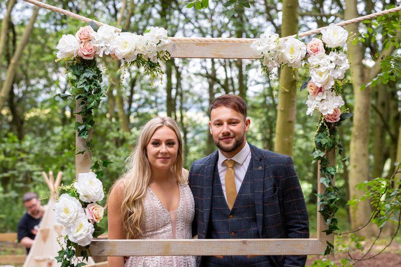 Cockley Woodland Wedding 11