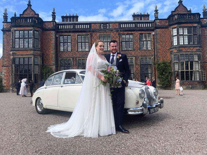 classic wedding cars cheshire arley hall 4 109961 162858904132358