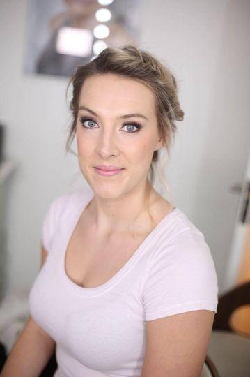 Bridal makeup - Sarah