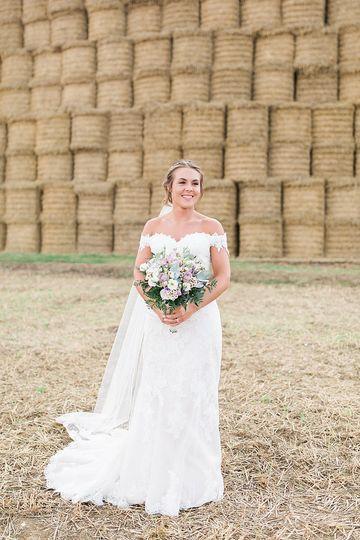 Beautiful bride Sophia