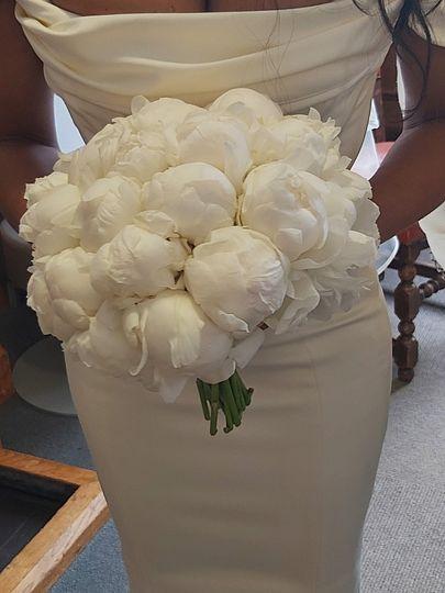 Peonies Bride's Bouquet
