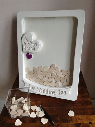 Heart - message drop box - picture