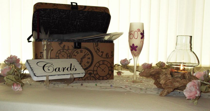 Celebration card boxes