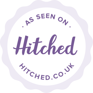 As seen on Hitched.co.uk