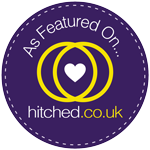 As featured on hitched.co.uk