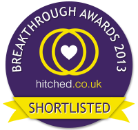 Vote for me in the hitched.co.uk 2013 Breakthrough Awards