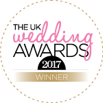UK Weddings Awards Winner 2017