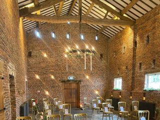 Meols Hall Tithe Barn 1