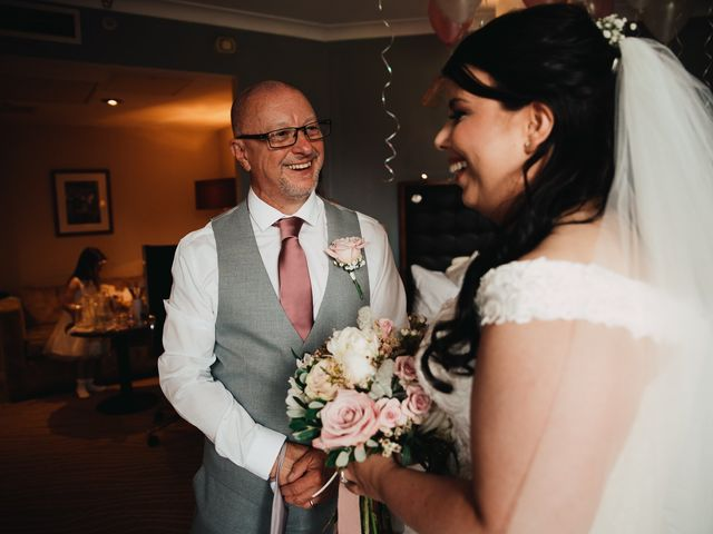 Sarah and Sarah's Wedding in Enfield, East London 26