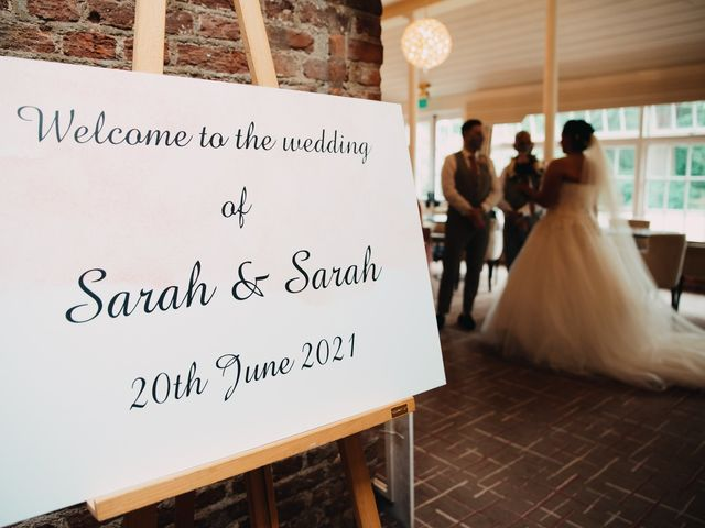 Sarah and Sarah's Wedding in Enfield, East London 33