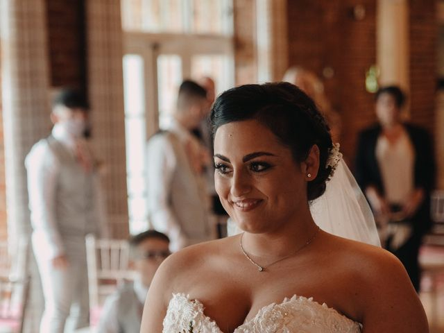 Sarah and Sarah's Wedding in Enfield, East London 42