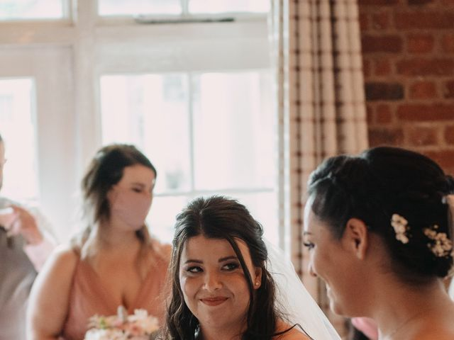 Sarah and Sarah's Wedding in Enfield, East London 54