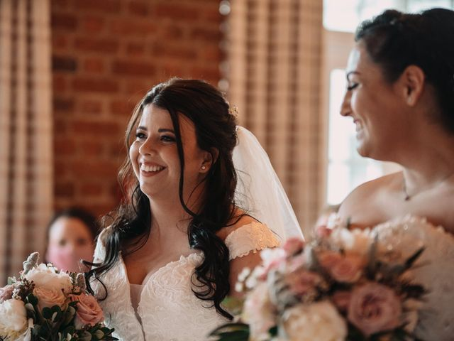 Sarah and Sarah's Wedding in Enfield, East London 56