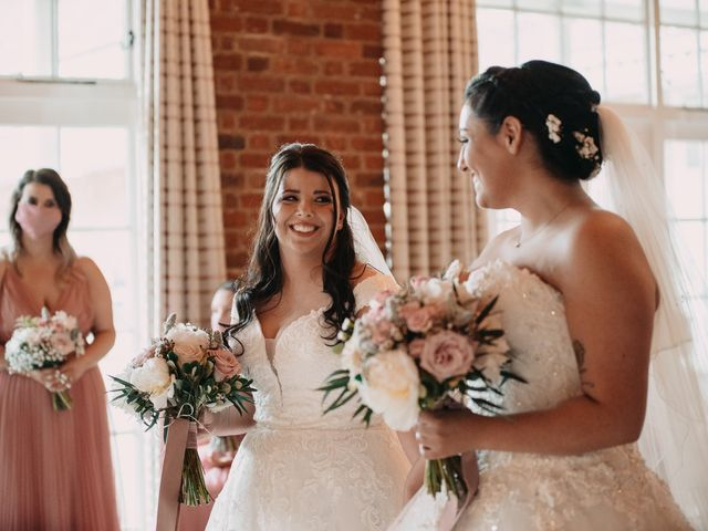 Sarah and Sarah's Wedding in Enfield, East London 58