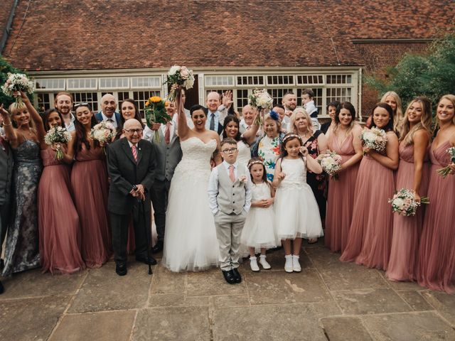 Sarah and Sarah's Wedding in Enfield, East London 100