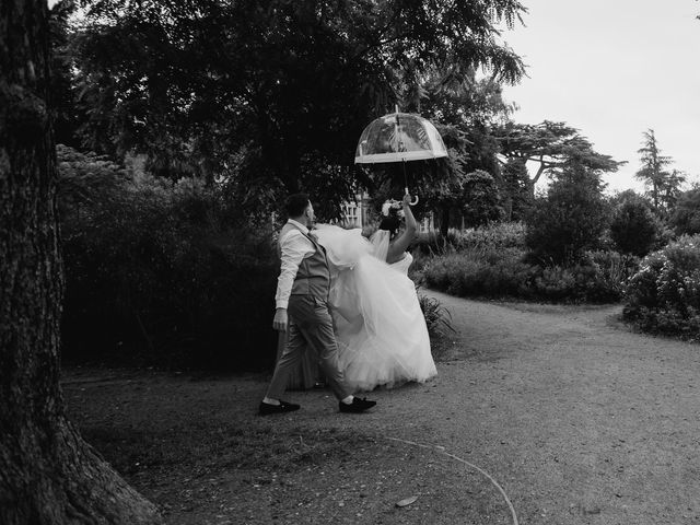 Sarah and Sarah's Wedding in Enfield, East London 101