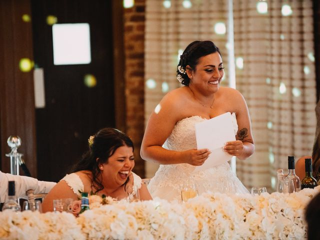 Sarah and Sarah's Wedding in Enfield, East London 141