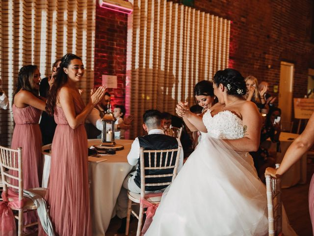 Sarah and Sarah's Wedding in Enfield, East London 163
