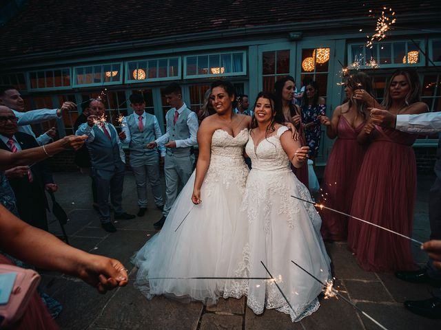 Sarah and Sarah's Wedding in Enfield, East London 180