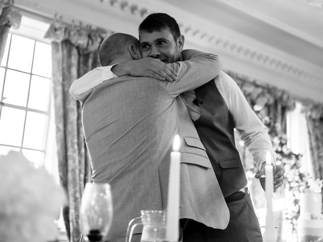 Chris and Mandi's Wedding in Clitheroe, Lancashire 10