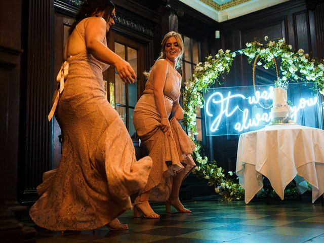 Chris and Mandi's Wedding in Clitheroe, Lancashire 13