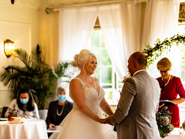 Chris and Mandi's Wedding in Clitheroe, Lancashire 27