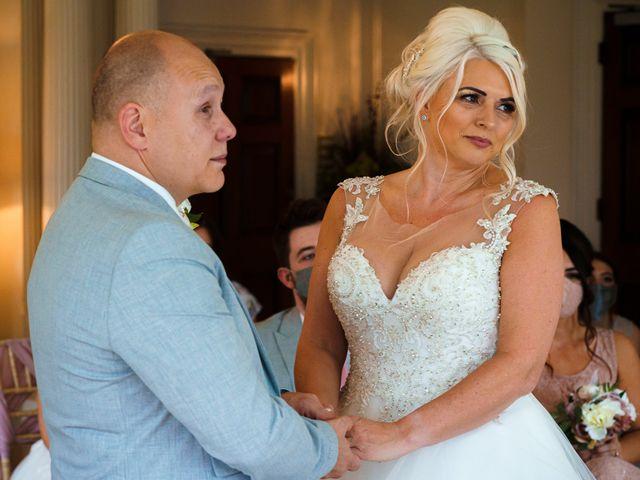 Chris and Mandi's Wedding in Clitheroe, Lancashire 28