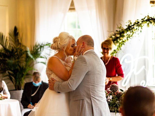 Chris and Mandi's Wedding in Clitheroe, Lancashire 29