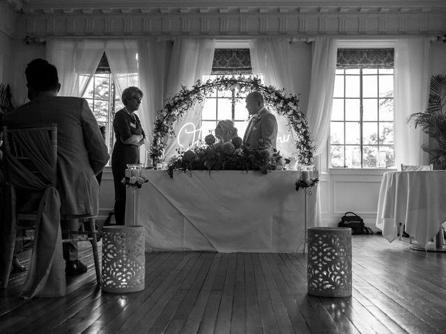 Chris and Mandi's Wedding in Clitheroe, Lancashire 30