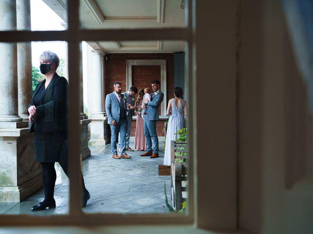 Chris and Mandi's Wedding in Clitheroe, Lancashire 31