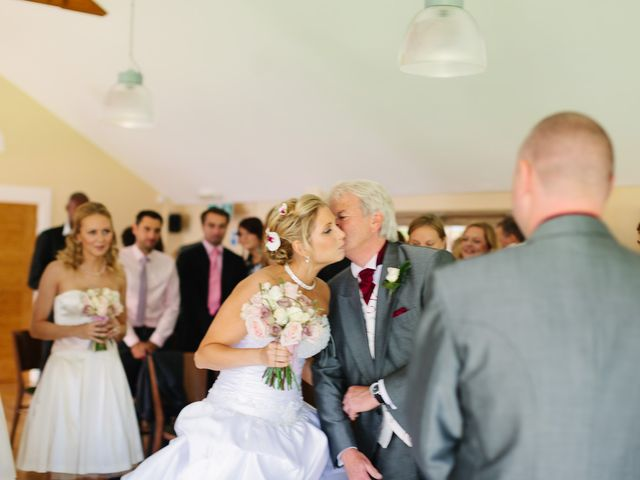 Barry and Kate's Wedding in Wasing, Berkshire 2