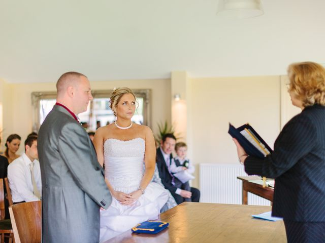 Barry and Kate's Wedding in Wasing, Berkshire 3