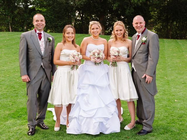 Barry and Kate's Wedding in Wasing, Berkshire 7